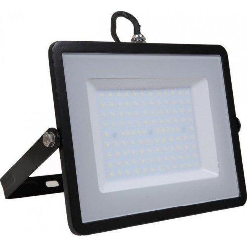 V-TAC SKU 414/6400K Προβολέας LED Samsung chip 100W Λευκό 6400K Μαύρο Σώμα 0025134