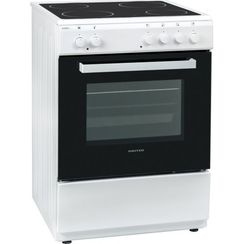 UNITED UFV-60276 Κουζίνα Λευκή Κεραμική 0025262