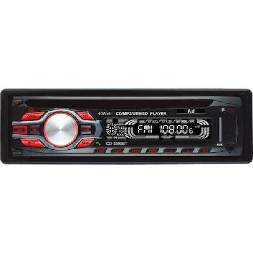 F&U CD-3590BT Ράδιο CD Αυτοκινήτου 0025265