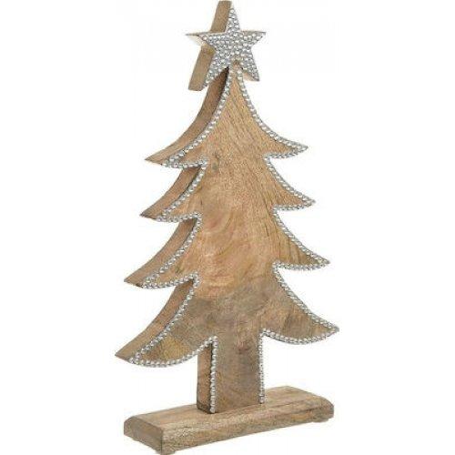 INART 2-70-930-0067 Δέντρο Ξύλινο Μεταλλικό Δ20χ6χ35εκ 0025369