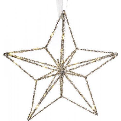 INART 2-70-570-0184 Αστέρι με LED Χρυσό 0025424