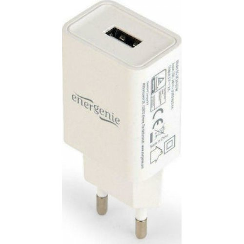 ENERGENIE UNIVERSAL EG-UC2A-03-W Φορτιστής USB Λευκός 0025597