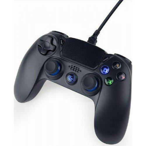 GEMBIRD JPD-PS4U-01 Gembird Wired Vibration Game Controller For PC/PS4 Black 0025609