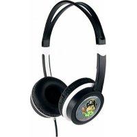 GEMBIRD MHP-JR-BK Παιδικά Ακουστικά Volume Limiter Μαύρα 3.5mm 85dB 0025646
