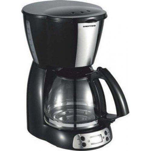 UNITED CM-9058 Ηλεκτρική Καφετιέρα Φίλτρου Inox 1.5lt 0025702