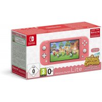 NINTENDO HDH-S-PAZLA Switch Console Lite Coral & Animal Crossing 32GB (5.5?) Οθόνη αφής 32 GB Wi-Fi 14 cm + Animal Crossing 0025772