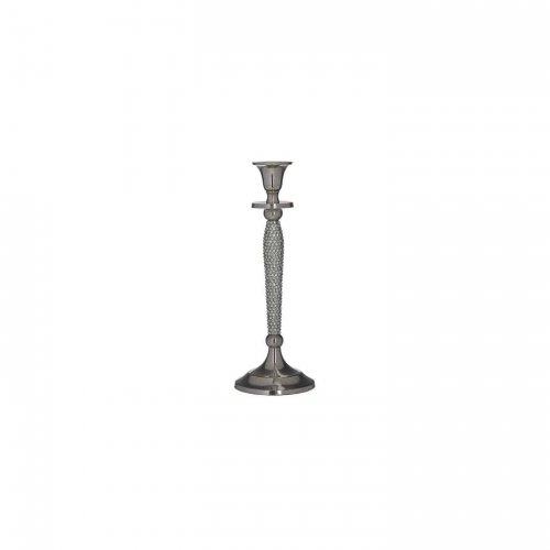 INART 3-70-803-0034  Κηροπήγιο Αλουμινίου 9x9x25cm 0025799