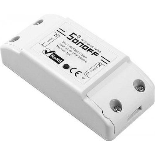 SONOFF SNF-BASICR2 Έξυπνος Smart Ασύρματος Διακόπτης,10A, WiFi, Λευκός 0025883
