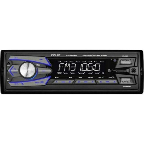 FELIX FX-293BT Ράδιο Αυτοκινήτου With Dual Usb Charger / Player 0026003