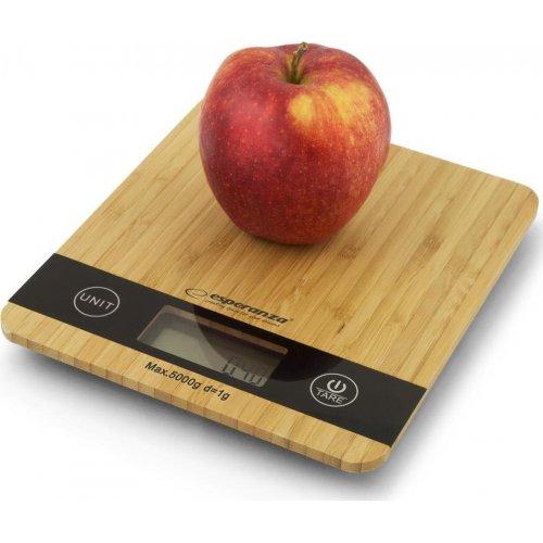 ESPERANZA EKS005 Bamboo Ψηφιακή Ζυγαριά Κουζίνας 5kg 0026048