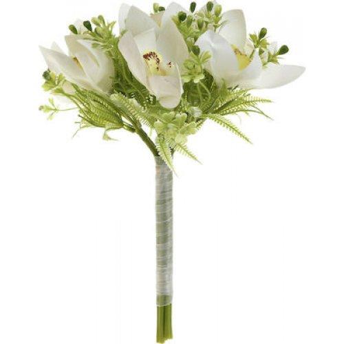 INART 3-85-505-0088 Λουλούδι/Μπουκέτο White-Ivory, Green 0026385