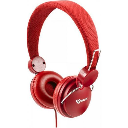 SBOX HS-736 Ακουστικά Ενσύρματα Κόκκινα 0026655