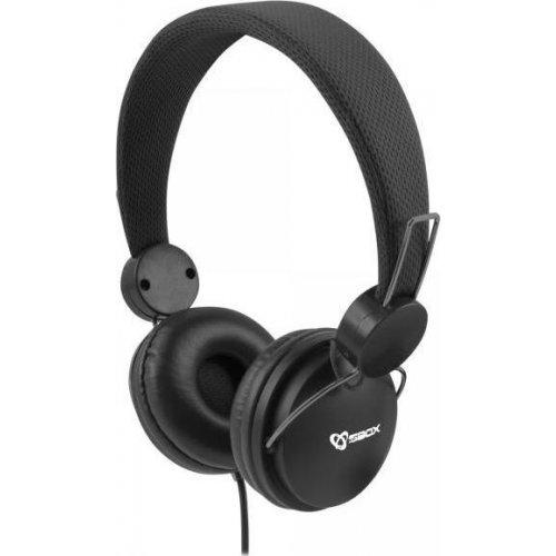 SBOX HS-736 Ακουστικά Ενσύρματα Μαύρα 0026657