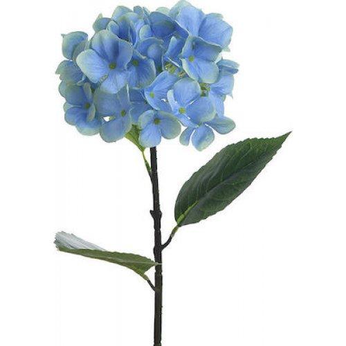 INART 3-85-246-0213 Κλαδί - Λουλούδι Μπλε Υ80εκ. 0026809