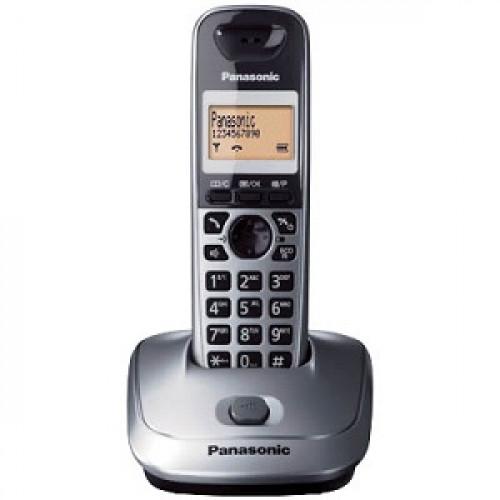 PANASONIC KX-TG 2511GRM Ασύρματο Τηλέφωνο Mεταλλικό Γκρι 0026994