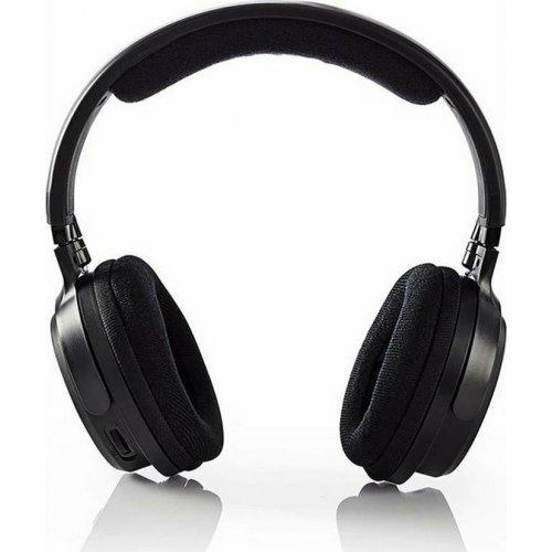 NEDIS HPRF200BK Ασύρματα Ακουστικά Τηλεόρασης 863MHz 3.5mm Μαύρο 0027169
