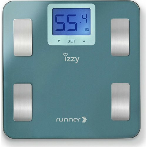 IZZY IZ-7003 Runner  Ηλεκτρονική Ζυγαριά Μπάνιου με Λιπομέτρηση 0027414