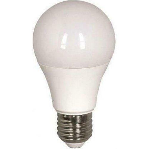 EUROLAMP 180-77003 Λάμπα led Α65 Αχλάδι E27 15W 220-240V Ψυχρό Λευκό Φως 6500k 1450lm Δέσμης 260° 15000h 0027546