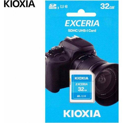 KIOXIA LNEX1L032GG4 SD EXCERIA 32GB UHS I 100MBs 0027742