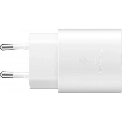 SAMSUNG EP-TA800NWEGEU WALL CHARGER USB-C 25W WHITE 0027824