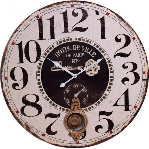 INART 3-20-773-0324 Ρολοι Τοίχου Ξύλινο Δ58 0027871