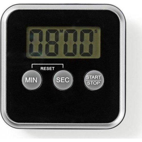 Nedis KATR102BK-0419 Ψηφιακό Χρονόμετρο Κουζίνας Μαύρο 0027914