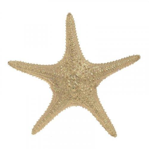 INART 4-70-117-0007 Διακοσμητικός Αστερίας Polyresin Χρυσός 27χ26,5χ5 0027970