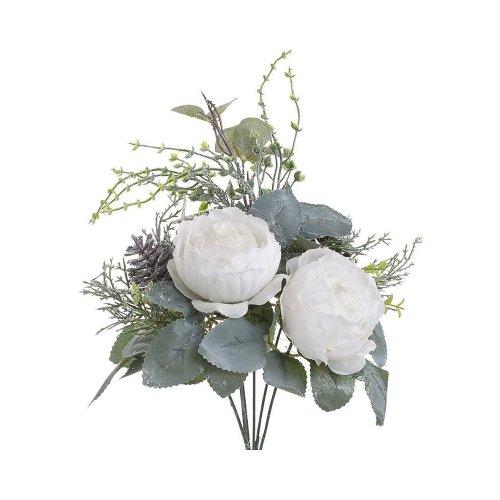 INART 2-85-084-0183 Κλαδί / Λουλούδι Λευκό Υ35
