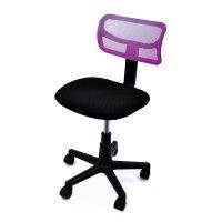 FYLLIANA 5001 093-15-057 Καρέκλα Γραφείου Μωβ χωρίς Μπράτσα