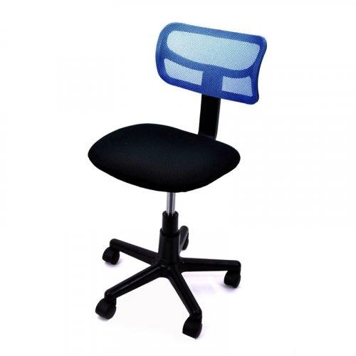 FYLLIANA 5001 093-15-058 Καρέκλα Γραφείου Μπλε χωρίς Μπράτσα 0010217