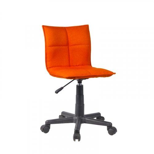 FYLLIANA 093-27-117 Καρέκλα Γραφείου 9102 Πορτοκαλί Ύφασμα F151-37 38,5χ51χ72/83,5εκ.