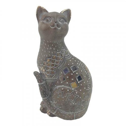 FYLLIANA 269-00-103 Διακοσμητική Γάτα 16 εκ