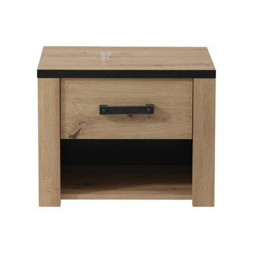 FYLLIANA 11008371 Κομοδίνο Lazio ΝΟ1F Artisian Oak 53.5x40x43