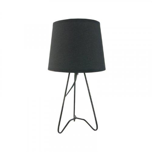 FYLLIANA 244-92-152 Επιτραπέζιο Φωτιστικό Μαύρη Μεταλλική Βάση+Μαύρο Καπέλο 171059 18χ33εκ