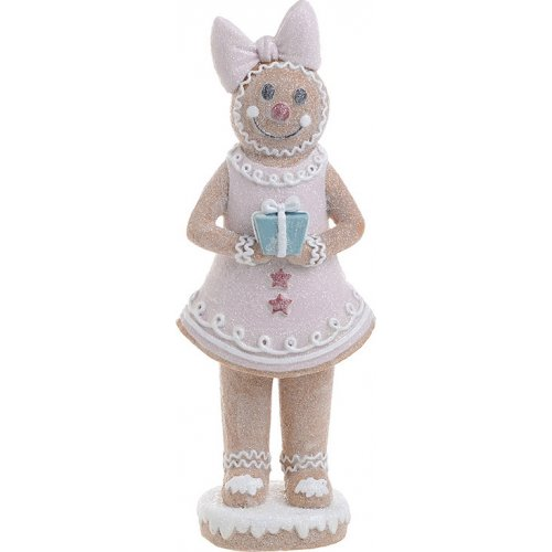 INART 2-70-497-0035 Gingerbread Woman 10x7x25cm 0025155