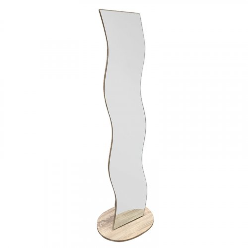 FYLLIANA 205-82-091 Καθρέφτης Δαπέδου Ασημί 764 50χ40χ166εκ. ΦΦ8 0018790