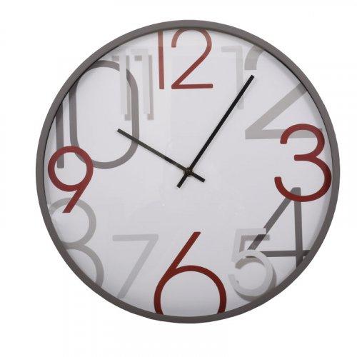 FYLLIANA 260-92-105 Ρολόι Τοίχου Λευκό-Γκρι 40.6εκ 3003-/5C