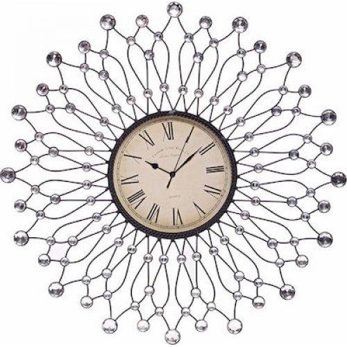 INART 3-20-207-0004  Ρολόι Τοίχου Μεταλλικό 60cm 0025800