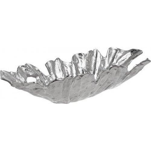 INART 3-70-579-0062 Πιατέλα 53X22X10 εκ Silver 0025778
