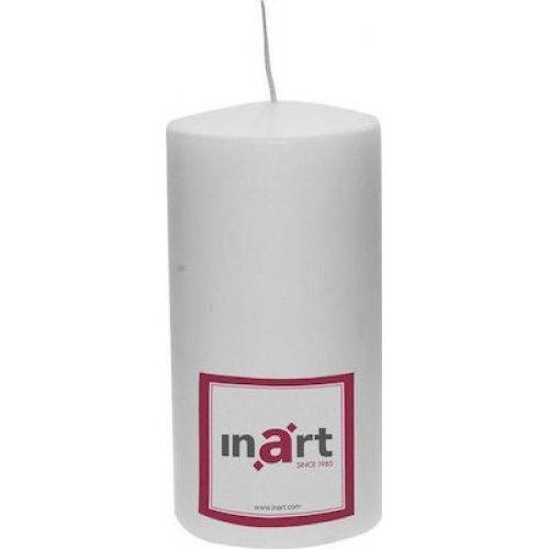INART 3-80-474-0046 Κερί Παραφίνης White 9χ9χ18 0025826
