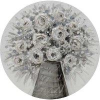 INART 3-90-519-0175 Πίνακας Καμβάς Βάζο Λουλουδιών Δ60 0025857