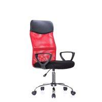 FYLLIANA SP-6410-RX 425-16-009 Καρέκλα Γραφείου Κόκκινο 57χ57χ106-116