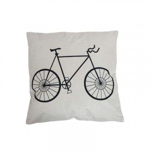 FYLLIANA 373-00-595 Διακοσμητικό Μαξιλάρι Ποδήλατο 43 x 43