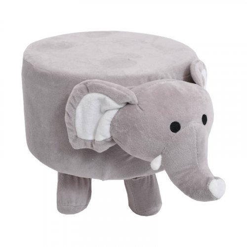 FYLLIANA 373-00-601 Διακοσμητικό Σκαμπώ Ελέφαντας 40χ28,5χ27