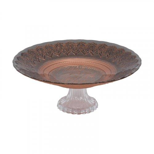 FYLLIANA 805-92-608 Κουπ Με Πόδι Palmyra  Μαύρο-Μπρονζέ 33εκ