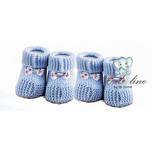 SB HOME  Baby Shoes No4 Πλεκτά 0024386