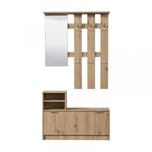 FORMA IDEALE 11008161 Στάντ Για Χωλ Ravenna  Artisan Oak 100x29x191.5
