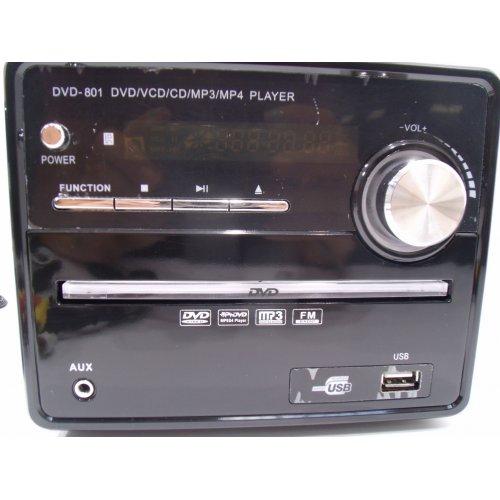 OEM DVD-801 Micro Hi-Fi 2.0 (DVD/VCD/CD/MP3/MP4/Bluetooth/FM/Karaoke) 0018708