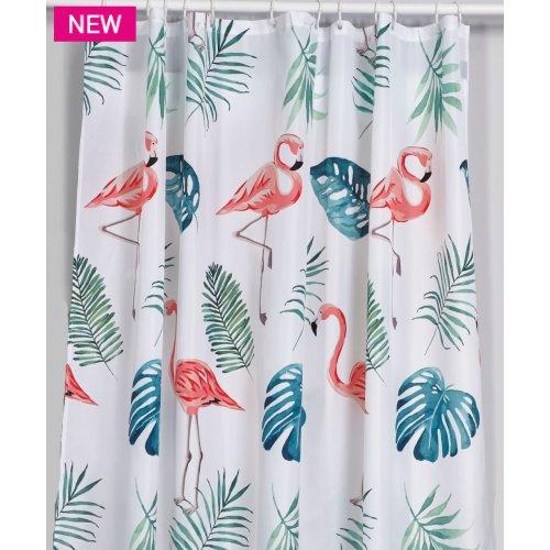 KENTIA Flamingo Κουρτίνα Μπάνιου 240Χ180 0024606