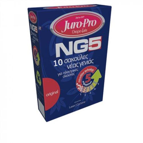 JURO-PRO NG5 για Laser/Cyclone/Silver Σακούλες Ηλεκτρικής Σκούπας 10τμχ 102192